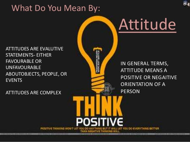 attitude organisation behaviour Motivation and organizational behaviour the behaviour and attitudes of motivated employees cannot be underestimated and this helps to contribute to the tone.