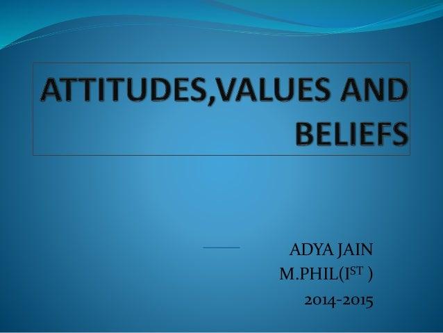 ADYA JAIN M.PHIL(IST ) 2014-2015