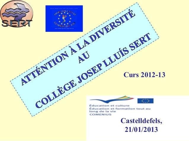 1 Curs 2012-13 Castelldefels, 21/01/2013
