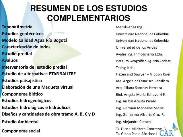 ALICACHINDISTRITO DERIEGO LARAMADALAGO LA FLORIDARIO BOGOTAEMBALSEDEL MUÑAHUMEDALLACONEJERAHUMEDALJUANAMARILLORIO SALITRE ...