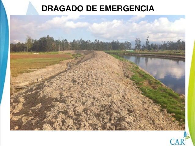 DRAGADO DE EMERGENCIA