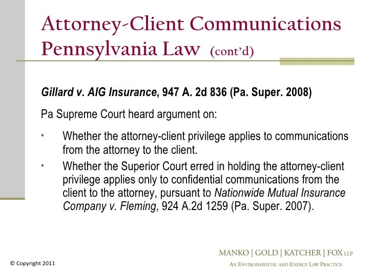 attorney client privilege essay Of privileged communications between attorney and client, meaning that such   explore the contours of the attorney-client privilege and will examine how the.
