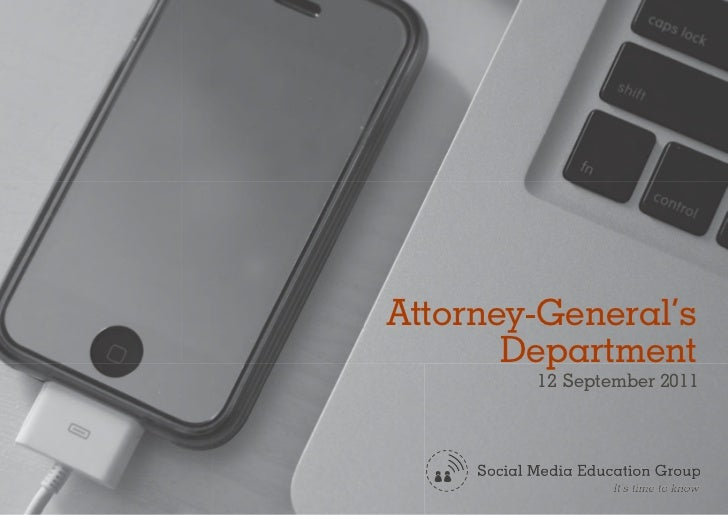 Attorney-General's       Department        12 September 2011