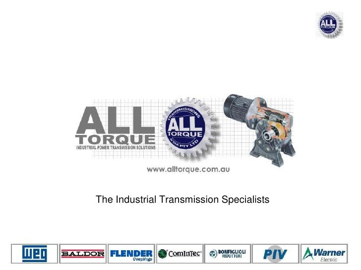 The Industrial Transmission Specialists<br />
