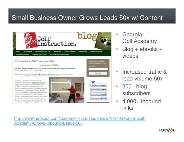 Small Business Owner Grows Leads 50x w/ Content                                                     • Georgia             ...