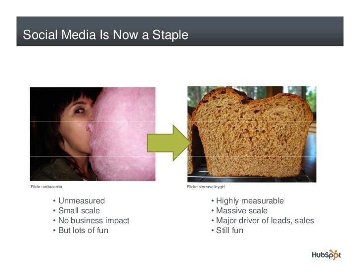 Social Media Is Now a Staple      Flickr: anitacanita                 Flickr: sierravalleygirl                 • Unmeasure...
