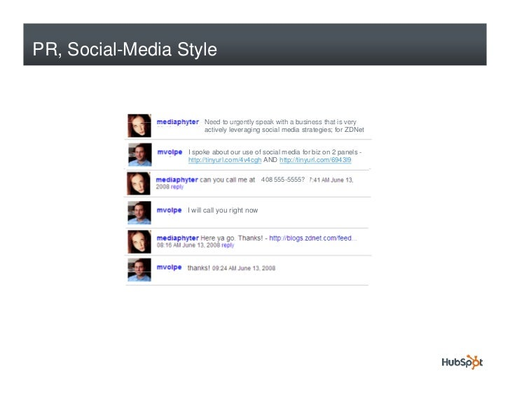 PR, Social-Media Style                          Need to urgently speak with a business that is very                       ...