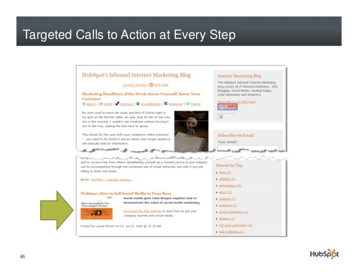 Targeted Calls to Action at Every Step     46