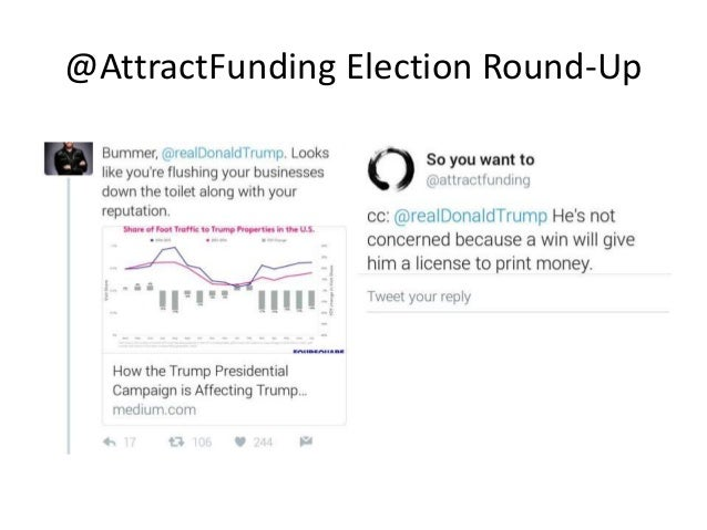 @AttractFunding Election Round-Up