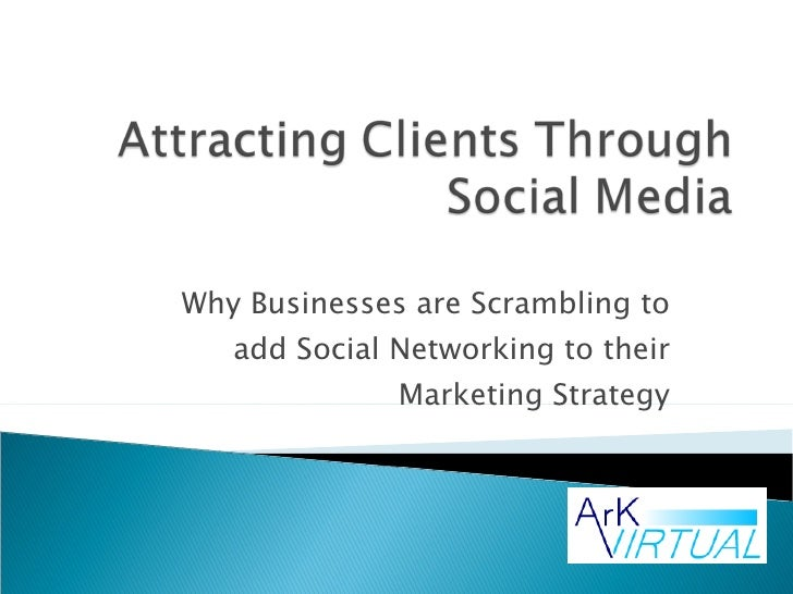 Why Businesses are Scrambling to add Social Networking to their Marketing Strategy