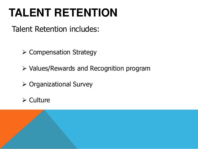 retaining talent Retaining talent plenary session  retaining good employee talent - duration:  a talent focused human capital model - duration:.