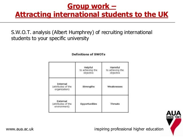 swot analysis on trends in higher education Patterns and trends in uk higher education 2015 universities uk 1 the analysis in this report does not cover other higher education providers, including.