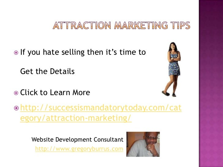 Discovering Attraction Marketing Basics Slide 3