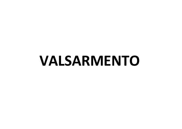 VALSARMENTO