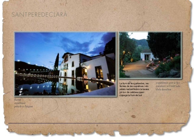 Attrezzo 2019 - Masia per a Casaments de Sant Pere de Clarà Slide 2