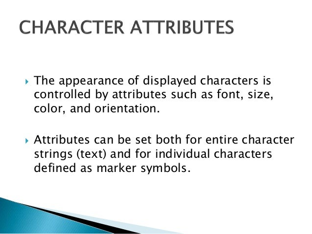  Spacing between characters is controlled separately with setCharacterSpacing(cs)  where the character-spacing parameter...