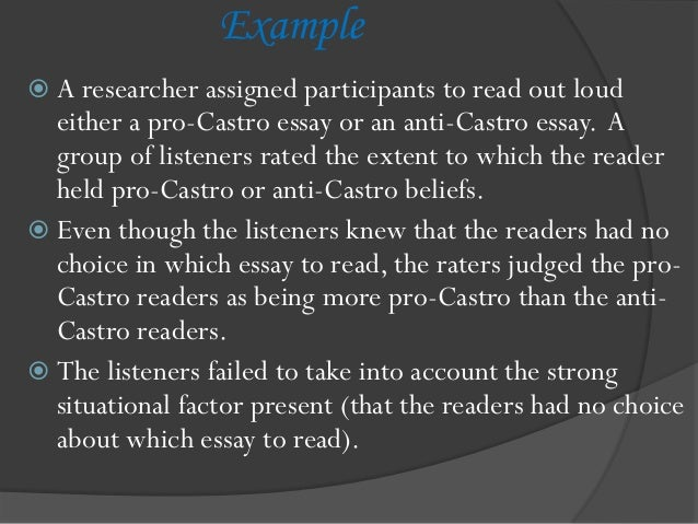 the attribution theory essay Weiner's attribution theory was built upon the attributional dimensions of task achievement, primarily focusing on the causes and consequences of.