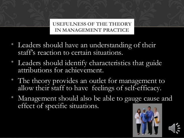 • Leaders should have an understanding of their staff's reaction to certain situations. • Leaders should identify characte...