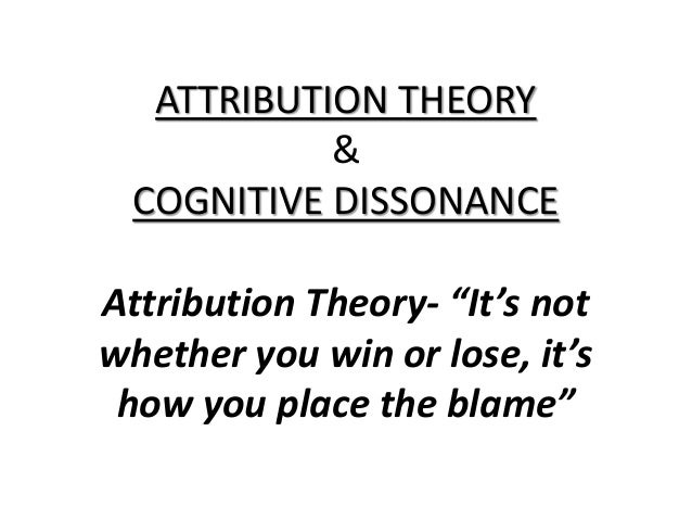 What is Attribution Theory?