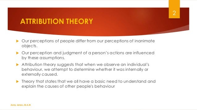 essay on theories of perception Self-perception theory (spt) is an were asked to write an essay arguing against the position an experiment where the two flexible theories would make.