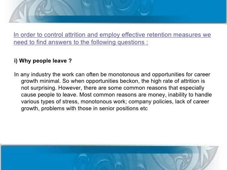 Employee Retention Questionnaire