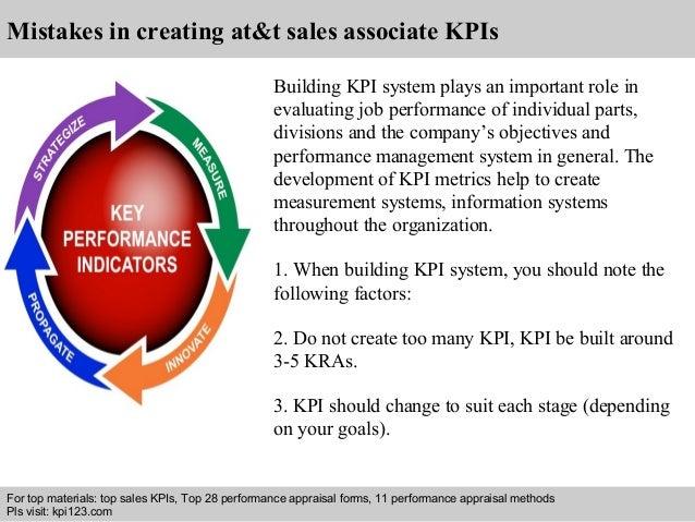 At&t sales associate kpi