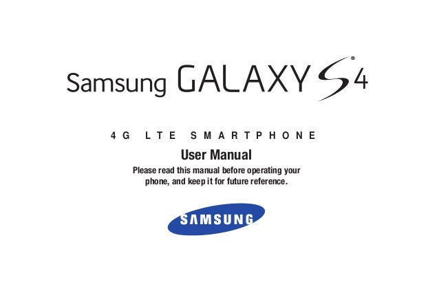 4 G L T E S M A R T P H O N E User Manual Please read this manual before operating your phone, and keep it for future refe...