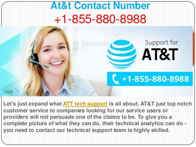 At&t support number 855 880-8988 at&t customer service number