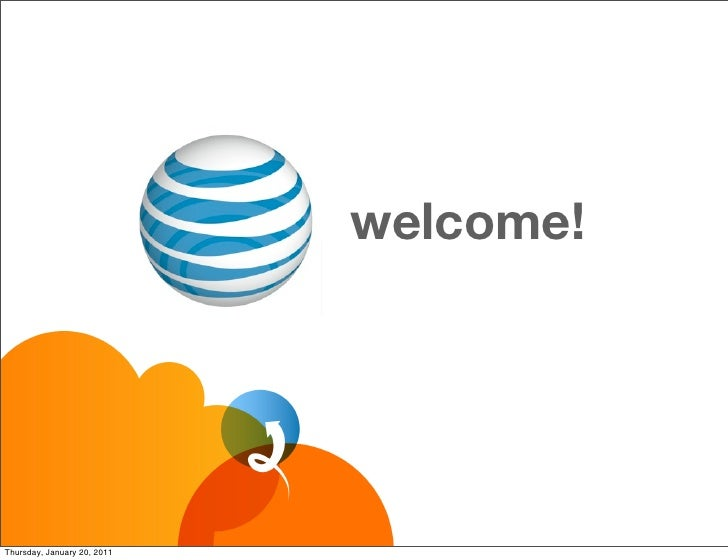 welcome!Thursday, January 20, 2011