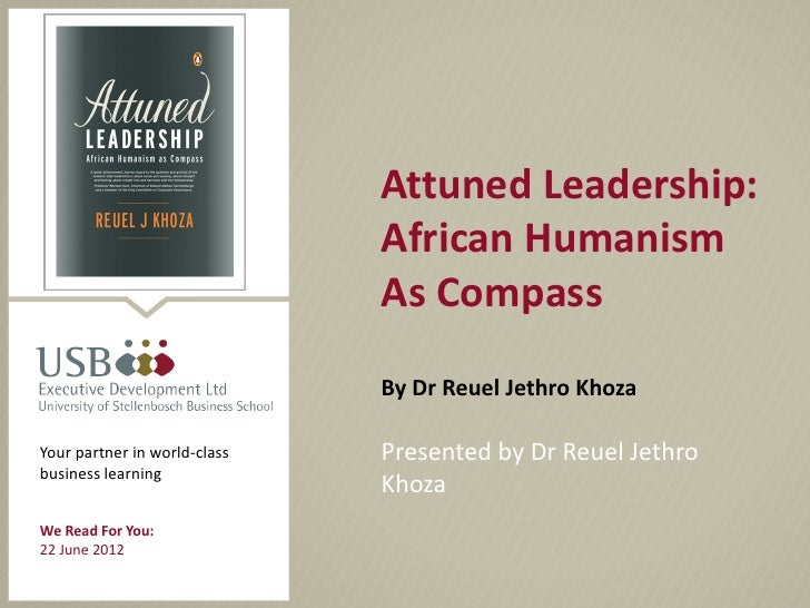 City of Cape Town                                       Attuned Leadership:                                       African ...