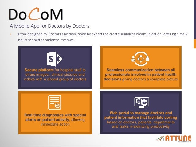 A Mobile App for Doctors by Doctors • A tool designed by Doctors and developed by experts to create seamless communication...