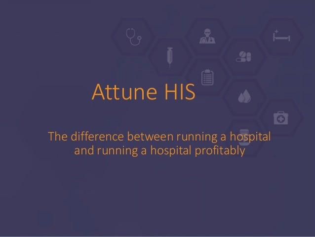Attune Hospital Information System Slide 3