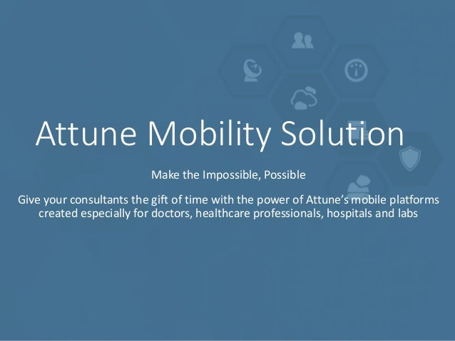 Attune Mobility Solutions Slide 2