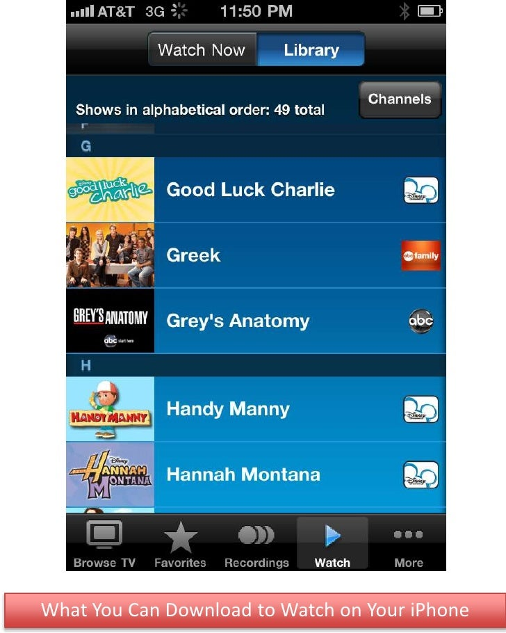 What You Can Download to Watch on Your iPhone<br />