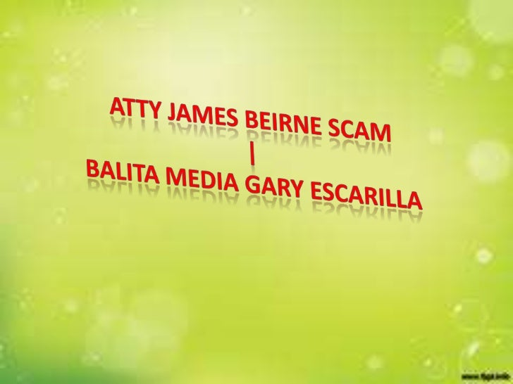 The 'pattern of lying' in the Balita/Beirneorganization once more came to the fore duringa court-ordered deposition of Att...