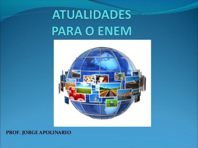 PROF. JORGE APOLINARIO
