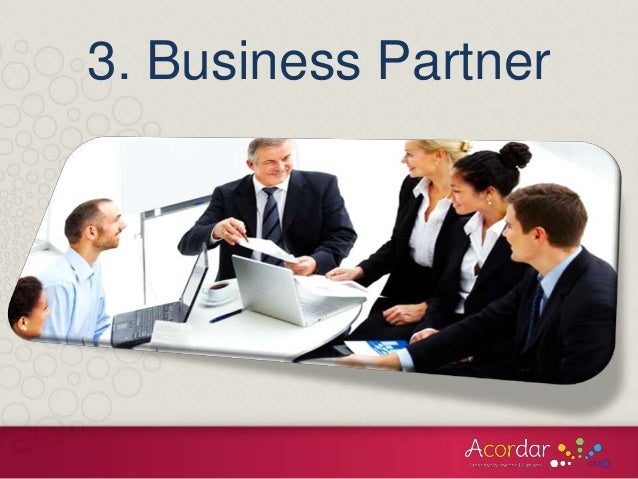 Dating business partner