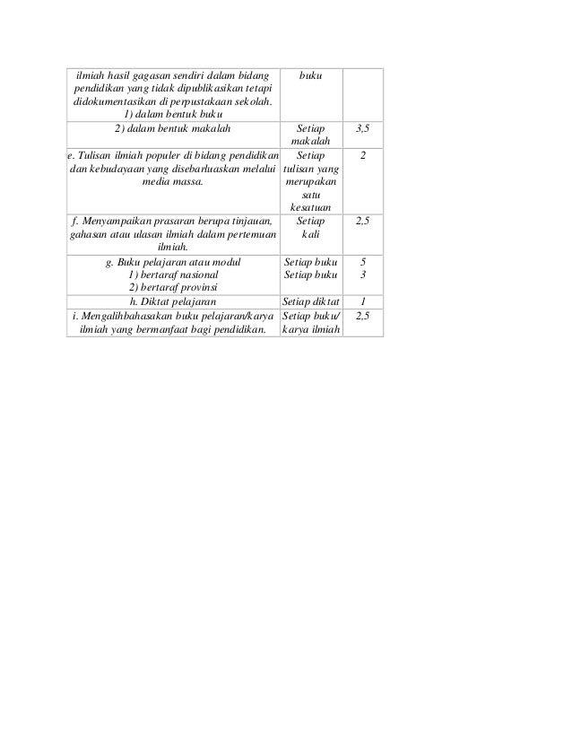 ilmiah hasil gagasan sendiri dalam bidang pendidikan yang tidak dipublikasikan tetapi didokumentasikan di perpustakaan sek...