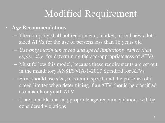 ATV Action Plan Presentation