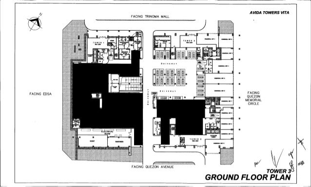 AT Vita T3 Residential and Parking Layout – Parking Layout Plan