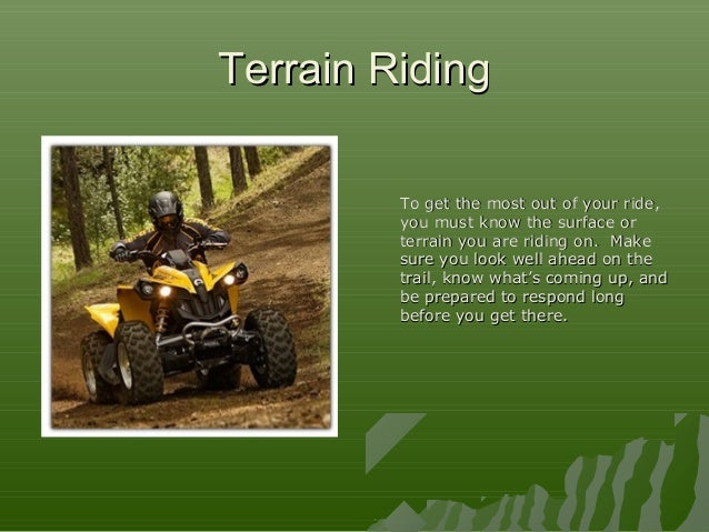 ONTAP - ATV Safety course