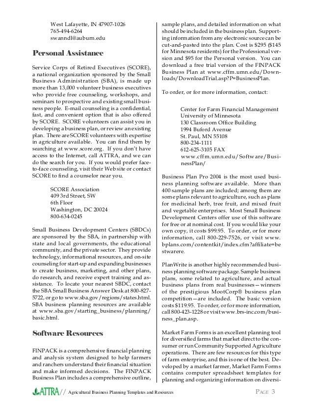Attractive ... Poultry Science Building; 3. //XXXXXXXXXXXXXXXXXXXXXXXXXX PAGE  3Agricultural Business Planning Templates ...