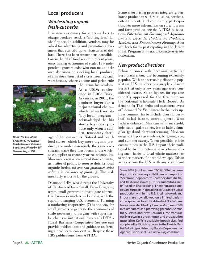 Herbs organic greenhouse production - Increase greenhouse production cost free trick ...