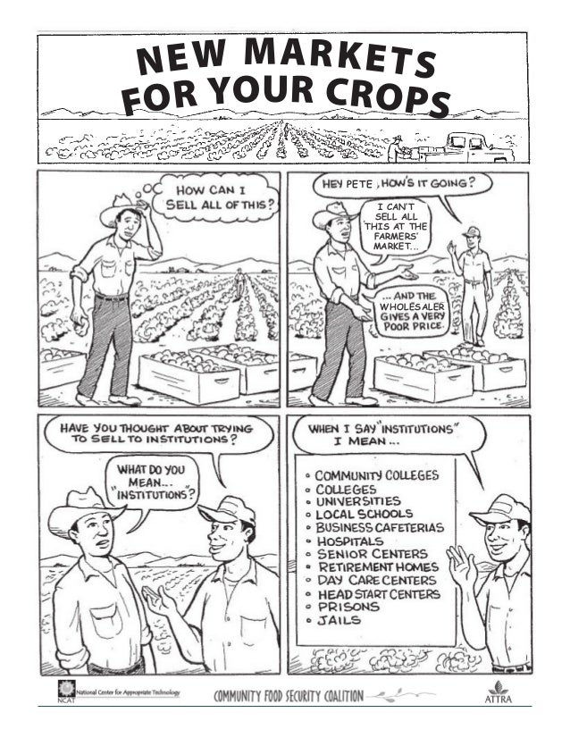 PETE WHOLESALER NEW MARKETS FOR YOUR CROPS I CAN'T SELL ALL THIS AT THE FARMERS' MARKET...