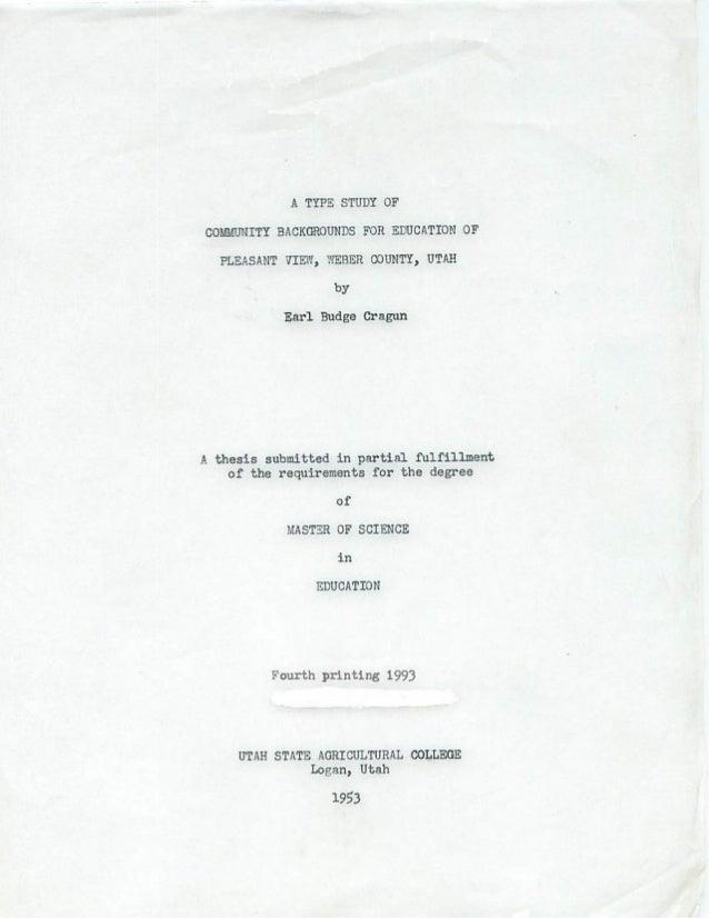 A type study.eb cragun