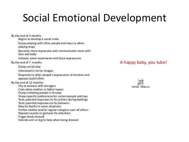 social and emotional development + essays Early childhood emotional and social development: conclusion angela oswalt,  msw as we have reiterated throughout this series of developmental articles,.