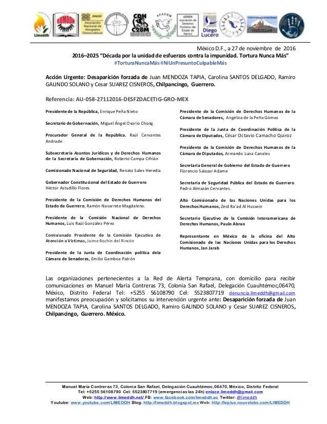 Manuel María Contreras 73, Colonia San Rafael, Delegación Cuauhtémoc,06470, México, Distrito Federal Tel: +5255 56108790 C...