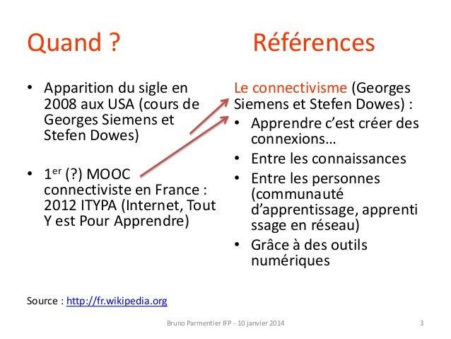 Au fait, c'est quoi un MOOC ? Slide 3