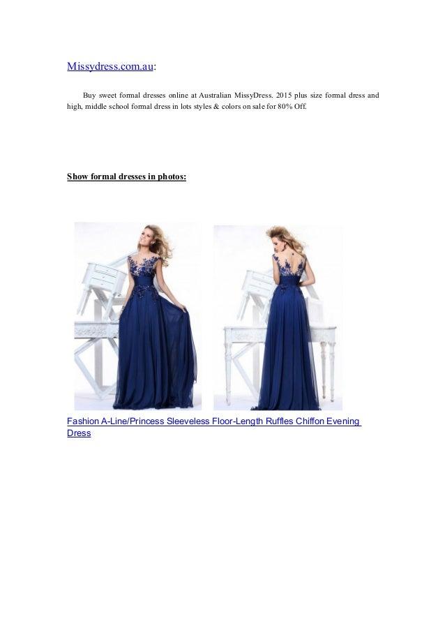 Missydress.com.au: Buy sweet formal dresses online at Australian MissyDress. 2015 plus size formal dress and high, middle ...