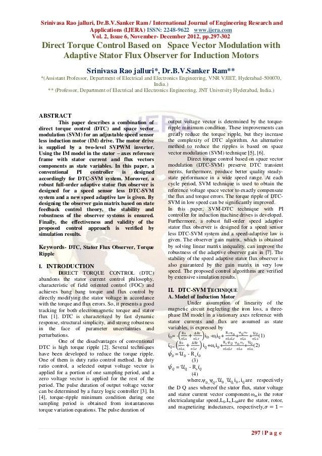 Srinivasa Rao jalluri, Dr.B.V.Sanker Ram / International Journal of Engineering Research and                   Application...